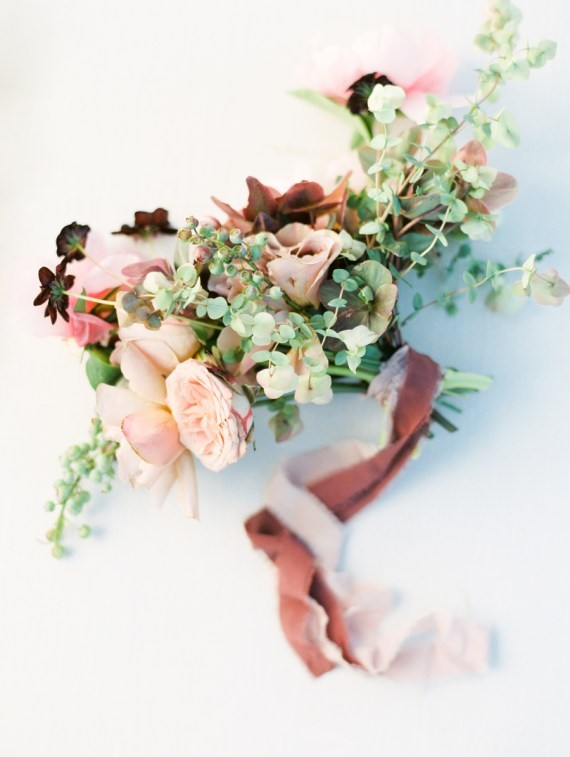 Dreamy Outdoor Bridal Shower flower bouquet