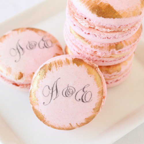 wedding Custom Macarons