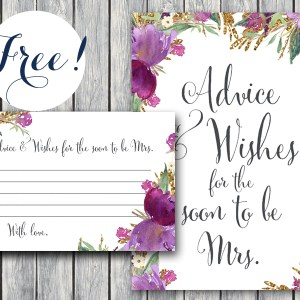 TH59 -6x4-free-purple-advice-wishes-card-purple floral