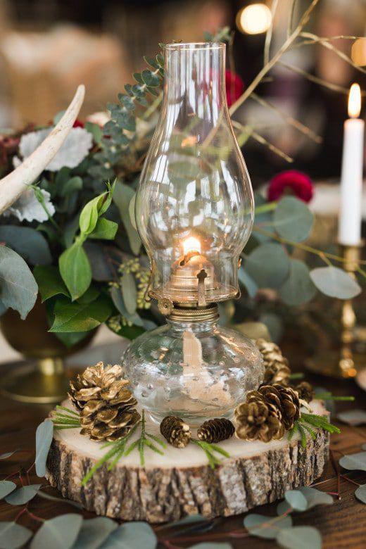 Romantic-Winter-Rustic-Wedding-Lamps