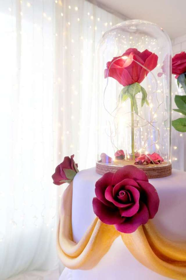 Beauty-And-The-Beast-Dream-Wedding-Cake-Topper