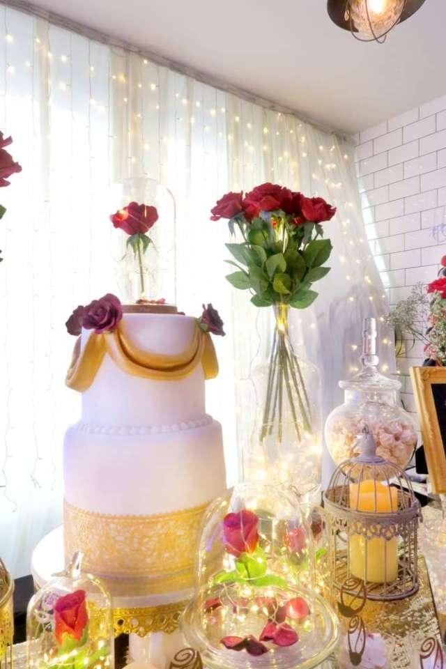 Beauty-And-The-Beast-Dream-Wedding-Cake