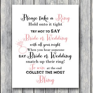 TH00-5x7-dont-say-bride or wedding bridal shower game