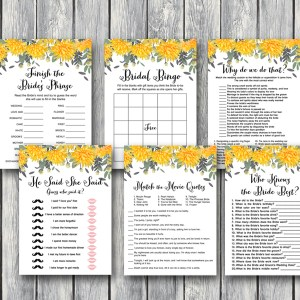 dandelion-wedding-shower-games-bridal-shower-games-yellow-floral-th18