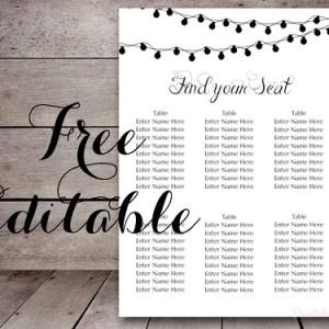 free-editable-night-lights-wedding-seating-chart-template