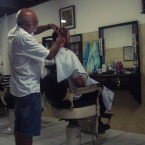 Haircut in Paraty