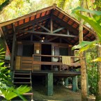 Our cabin at Sea and Forest, Trindade