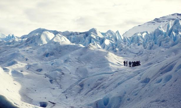 Hiking Perito Moreno