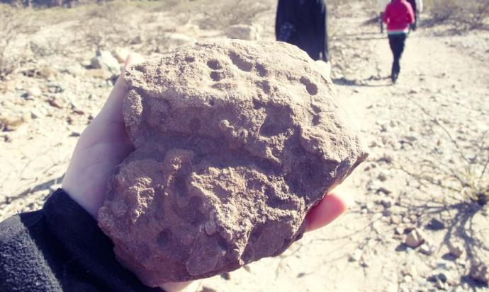 Mars or Moon rock, Quebrada de Cafayate