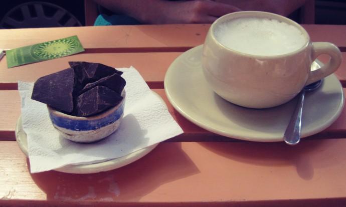 Oui Oui hot chocolate