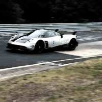 VIDEO: Pagani Huayra BC testing at the Nürburgring
