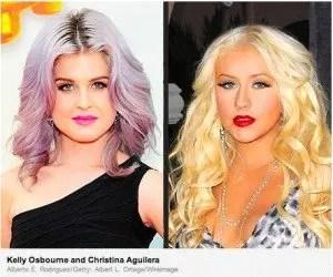 "Kelly Osbourne, Christina Aguilera ""Fat Fight"""