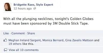 Golden Globes Fashion