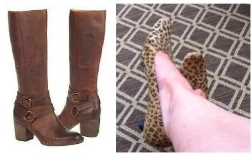 Naya Boots, Leopard Shoes