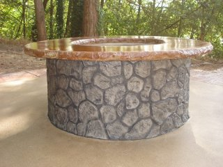 Beautiful & Functional Firepit