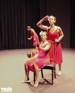 "Blackbox Performance of ""Southern Breakdown"" Dancers Juliana Trivino and Amanda Edwards"