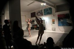"Live Performance of ""What is Meant"" at Love Steady Arts Dancers Juliana Trivino and Brigette Cormier"