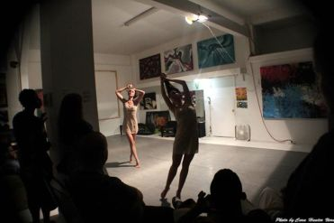 """Live Performance of """"What is Meant"""" at Love Steady Arts Dancers Juliana Trivino and Brigette Cormier"""
