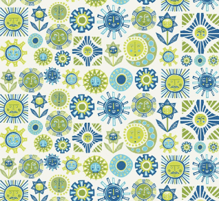 {Scream! Jonathan Adler Wallpaper} - Bright Bazaar by Will Taylor