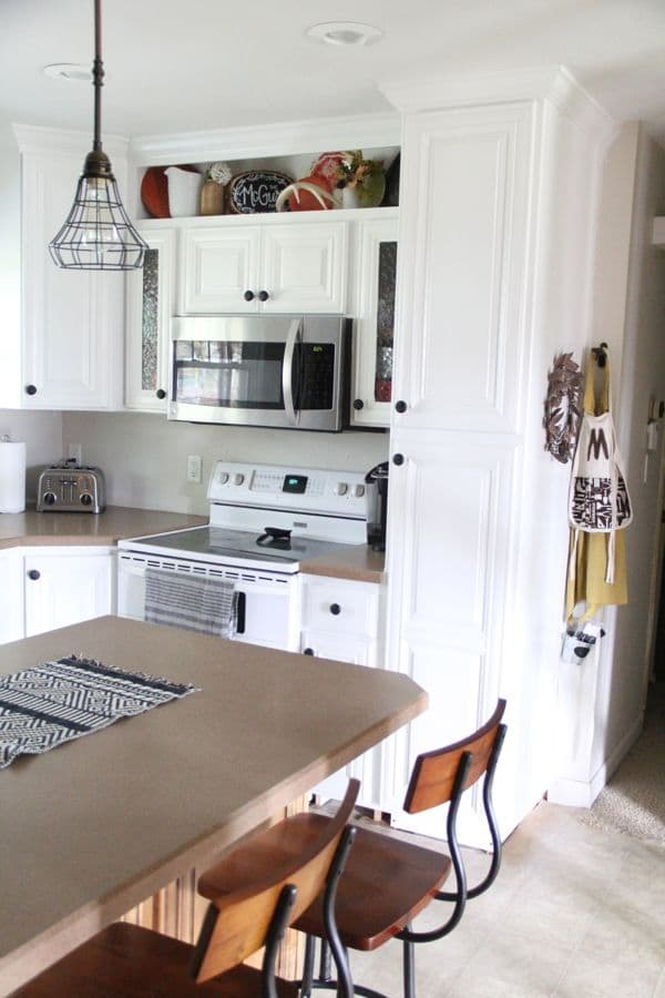 how to build open shelving above cabinets for custom look hometalk how to cover open kitchen shelves above cabinets