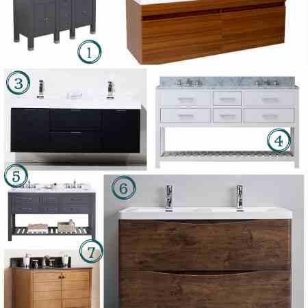 Modern Bathroom Vanity Choices