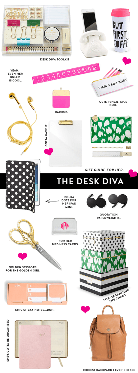 Gift Guide For Her: The Desk Diva
