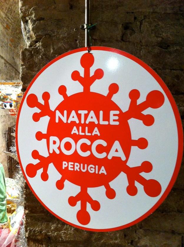 Christmas market Perugia Umbria