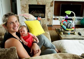 Libby Trickett encourages more Qld hospitals to use HypnoBirthing