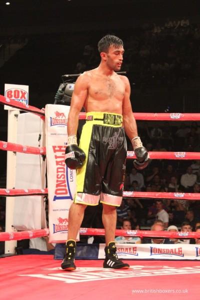 adil anwar asian boxer poster