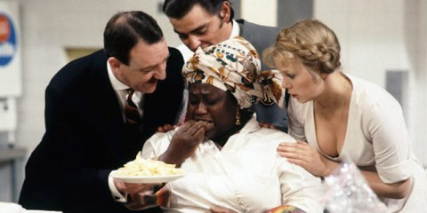 cast of the 1979 ITV comedy room service