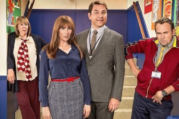 David walliams and catherine tate lead the cast in bbc comedy big school