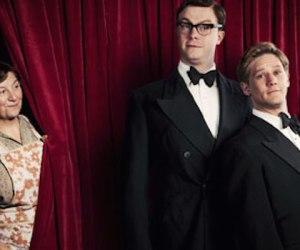 Daniel Rigby as Eric Morecambe and Bryan Dick as Ernie Wise