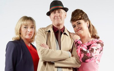 nicholas lyndhurst, elizabeth carling and emma amos retirn for a one off special episode of goodnight sweetheart