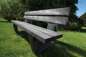 Harewood Moulded Seat Black