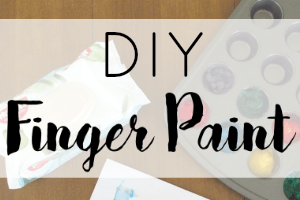 DIY Finger Paint