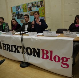 Residents question candidates at a previous Brixton Blog hustings event in Brixton Hill