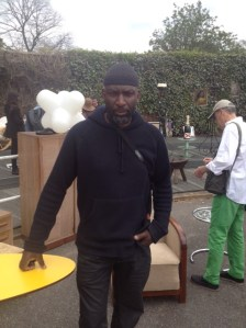 Organiser Moses Otunla at The Modern Movement