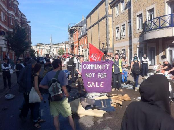 FOR SALE: The council made tens of millions of pounds by selling off housing stock in Rushcroft Road, Brixton