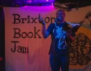 Courttia Newland at the Bookjam. Photo credit: Stuart Taylor