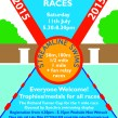 Brockwell lido summer races