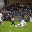 Dulwich Hamlet in action against Brentwood Town at Champion Hill (Photo: Sandra Brobbey for Brixton Blog).