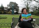 Park Life author Emmanuelle Smith in Brockwell Park