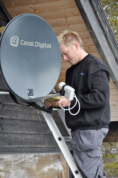 Canal Digital dish install