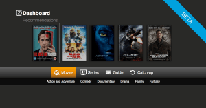 Ziggo UI Screen Shot