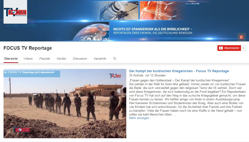 German Focus TV launches YouTube channel