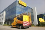 Telenet HQ and van