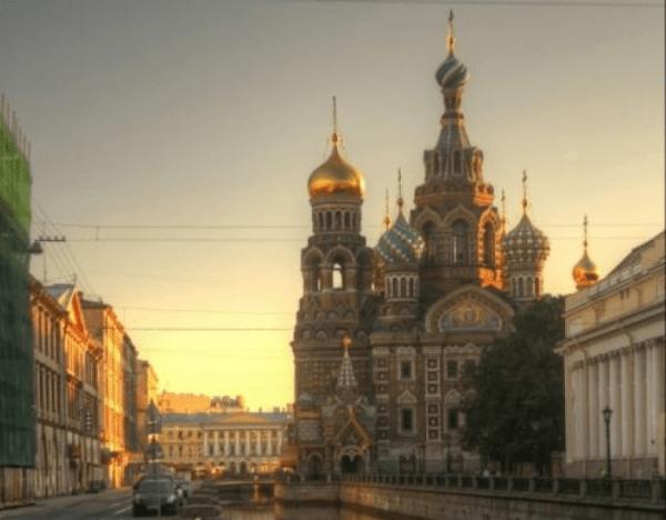 Russia. St Petersburg.