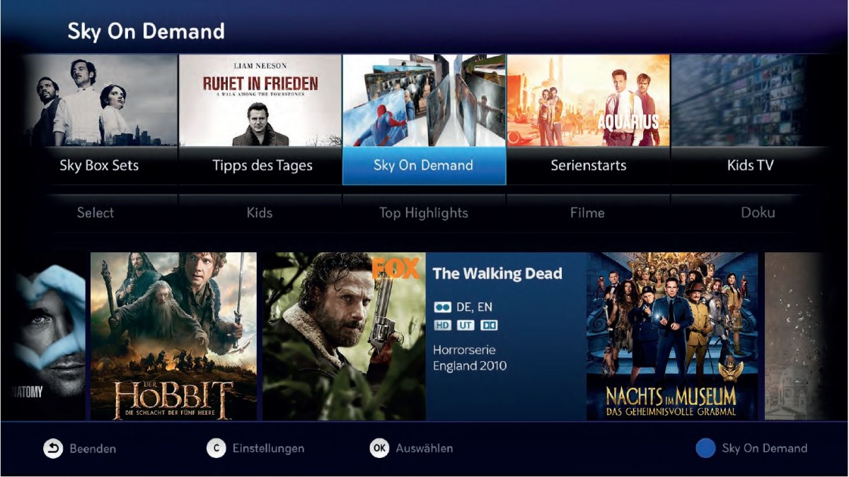 Sky deutschland to close down svod service snap for Tv on demand