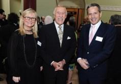 Dee Forbes, Sir Bruce Forsyth and Dan Korn