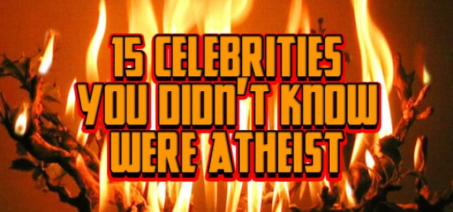 Atheist Celebrities
